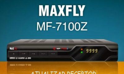 Atualização maxfly MF 7100z v.2.40 maio 2017