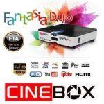 ATUALIZAÇÃO CINEBOX FANTASIA DUO - 26/03/2018