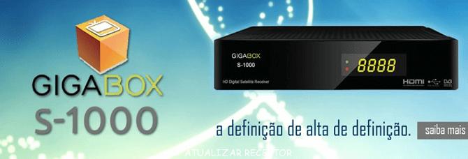 atualização Gigabox S1000 HD v.2.10
