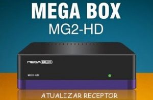 ATUALIZAÇÃO MEGABOX MG2 HD V.7.44 - 07/07/2017