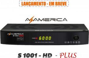 Atualização azamerica s1001 plus v.1.09.18261 - junho 2017