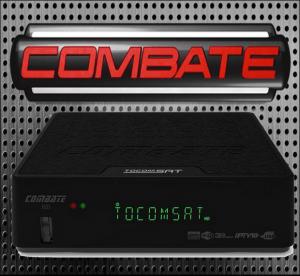 NOVA ATUALIZAÇÃO TOCOMSAT COMBATE HD V.2.049 - 14/05/2018
