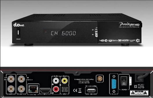 Duosat Prodigy HD Ultima Atualização v.12.2 - 26/09/2018
