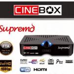 Atualização nova cinebox supremo hd, sks 58w e instabilidade no iks - 13/05/2017