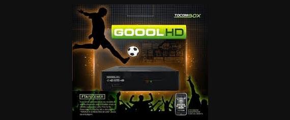 Tocombox Goool HD Nova Atualização v.03.050 - 11 outubro 2018