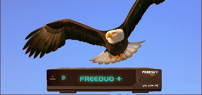 FREESKY FREDUO + PLUS HD V 4.07 ATUALIZAÇÃO E ATIVADOR 58W - 03/05/2017