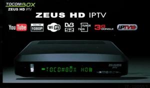 ATUALIZAÇÃO TOCOMBOX ZEUS HD IPTV V.03.045 - 03 OUTUBRO 2017