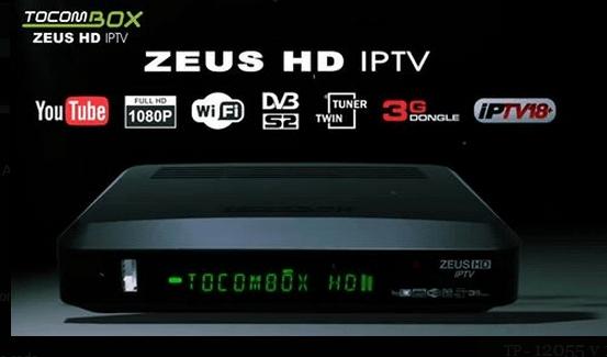 Atualização Tocombox Zeus Hd v.3.023 - 23/08/2016