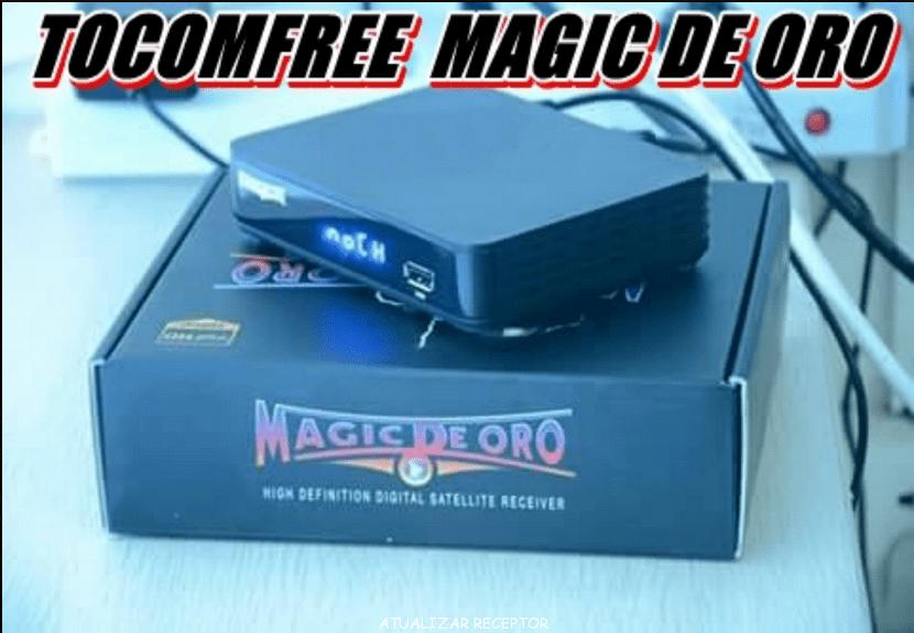 TOCOMFREE MAGIC DE ORO ATUALIZAÇÃO V1.2.7 - JANEIRO 2018