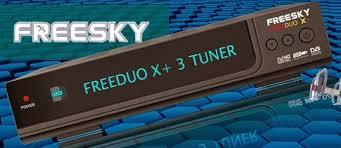 ATUALIZAÇÃO FREESKY FREEDUO X+ V.4.16 - DEZEMBRO 2017
