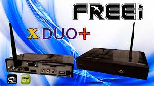 FREEI X DUO + NOVA ATUALIZAÇÃO V.4.12 - 20 JULHO 2017