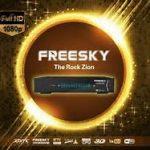 Freesky the rock Zion HD v.1.08.110 nova atualização - 21/03/2017