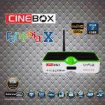 Nova atualização Cinebox Fantasia x Dual core 22W - 24/07/2016