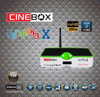 ATUALIZAÇÃO CINEBOX FANTASIA X HD V.19/12/2016 CANAIS SDS ON - PORTAL AZAMERICA