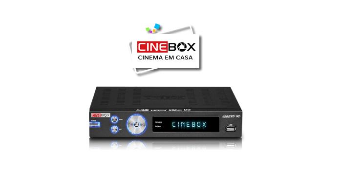 ATUALIZAÇÃO CINEBOX LEGEND HD - 16 SETEMBRO 2017