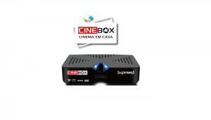 NOVA ATUALIZAÇÃO CINEBOX SUPREMO HD COM MELHORIAS NO IPTV - 19/12/2016