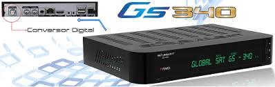 NOVA ATUALIZAÇÃO GLOBLSAT GS340 HD V.4.04 SKS 58_2 - 28/11/2016