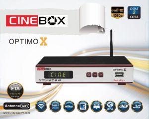 CINEBOX OPTIMO X ATUALIZAÇÃO - 06/03/2017