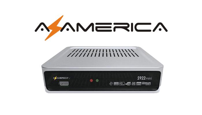 Atualização Azamerica S922 Mini HD transformada Phoenix