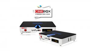 ATUALIZAÇÃO CINEBOX FANTASIA MAXX HD - JULHO 2018