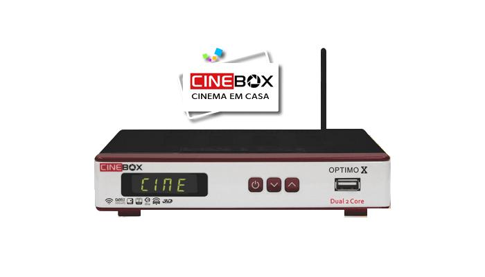 Cinebox Optimo x Dual Core Atualização Iks e Sks ON- 27/08/2018