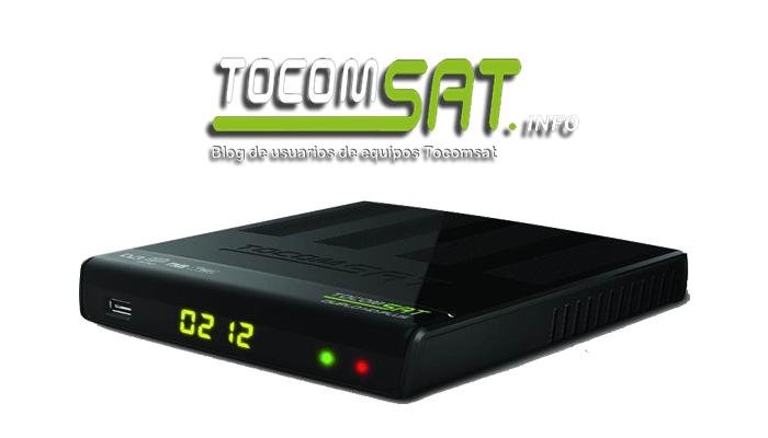 Tocomsat Duplo hd + plus Ultima atualização v.2.65 - 25/09/2018
