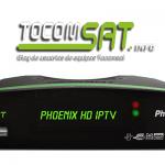 TOCOMSAT PHOENIX HD IPTV ATUALIZAÇÃO V.2.033 - 2017
