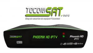ATUALIZAÇÃO TOCOMSAT PHOENIX HD IPTV V.02.046 - 03 OUTUBRO 2017
