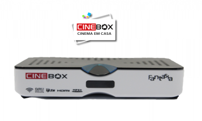ATUALIZAÇÃO CINEBOX FANTASIA HD - 14/02/2018