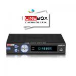 RECEPTOR CINEBOX LEGEND X DUAL CORE HD ATUALIZAÇÃO - 30/04/2016.