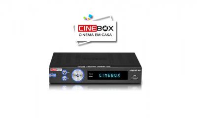 ATUALIZAÇÃO DISPONIVEL RECEPTOR CINEBOX LEGEND HD - 01/04/2016