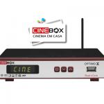 Download atualização do receptor Cinebox optimo x - 30 julho 2017