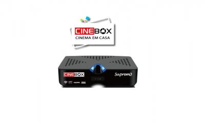 ATUALIZAÇÃO CINEBOX SUPREMO HD V - 16/09/2017