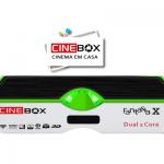 RECEPTOR CINEBOX FANTASIA X DUAL CORE HD ATUALIZAÇÃO - 30/04/2016.