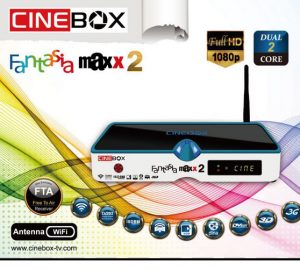 Atualização Cinebox Fantasia Maxx 2 com reativação no 22w - set/2016