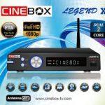 CINEBOX LEGEND X HD DUAL CORE