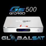 Globalsat GS 500 Hd nova versão de atualização adicionado IPTV - Out/2016