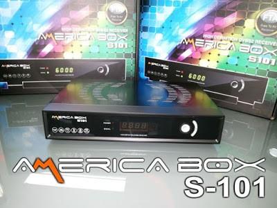 ATUALIZAÇÃO AMERICABOX S-101