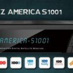 Azamerica s1001 abrindo alguns canais hd - 2017