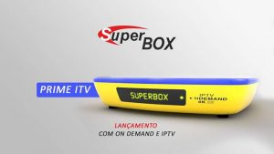 Atualização Superbox prime ITV v.1.021 - julho 2017