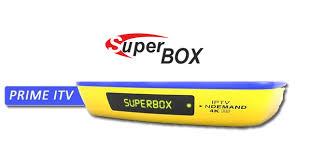 Atualização Superbox Prime itv v.1.019 - julho 2017