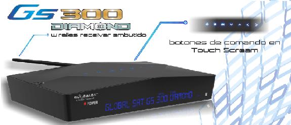 atualização Globalsat gs300 Diamond