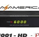 Nova atualização Azamerica s1001 Plus HD v.1.09.17317 - out/2016