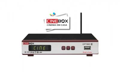 Cinebox Optimo x nova atualização - 29 outubro 2018