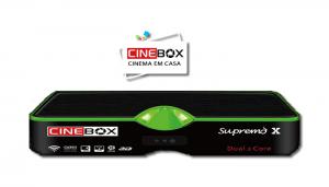 Cinebox atualização supremo x sks 63w adicionado - 08/07/2017