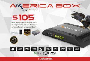 AMERICABOX S105 HD V.2.09 ATUALIZAÇÃO - 28 JUNHO 2017