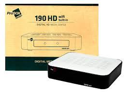 ATUALIZAÇÃO PROBOX 190 HD V.1.244 - 15/09/2017