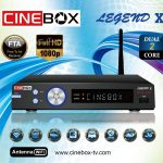BAIXAR ATUALIZAÇÃO CINEBOX LEGEND X IKS - 26/03/2018