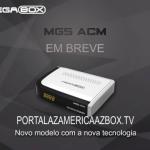 NOVA ATUALIZAÇÃO MEGABOX MG5 ACM V.1.25 - 2017