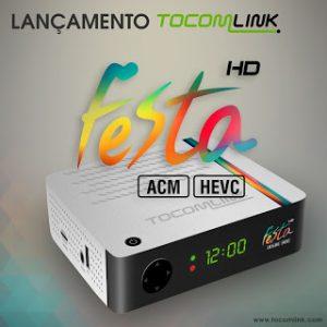 Atualização Tocomlink festa hd v.1.32 - 31/07/2017